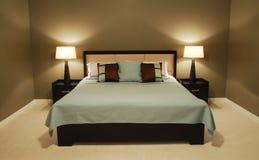 Camera da letto operata Immagini Stock
