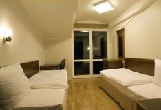 Camera da letto ordinata Fotografia Stock Libera da Diritti