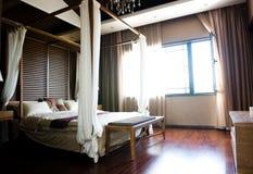 Camera da letto orientale di stile Immagini Stock Libere da Diritti