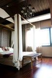 Camera da letto orientale di stile Immagine Stock