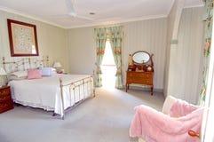 Camera da letto principale immagini stock