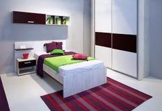 Camera da letto variopinta Immagine Stock Libera da Diritti