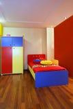 Camera da letto variopinta del bambino Immagini Stock Libere da Diritti