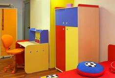 Camera da letto variopinta del bambino Fotografia Stock