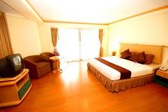Camera degli ospiti della località di soggiorno Fotografia Stock