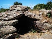 Camera dei fatati (sepolture antiche) Fotografie Stock