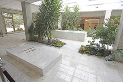 Camera dei fiori, mausoleo di Josip Broz Tito a Belgrado, Serbia fotografia stock libera da diritti