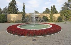 Camera dei fiori, mausoleo di Josip Broz Tito a Belgrado, Serbia immagine stock libera da diritti