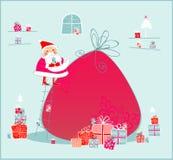 Camera del Babbo Natale Immagine Stock