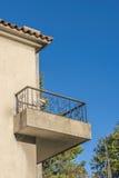 Camera del balcone di vecchio stile Fotografia Stock