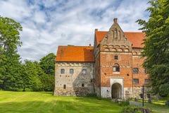 Camera del castello di Borgeby Fotografia Stock Libera da Diritti