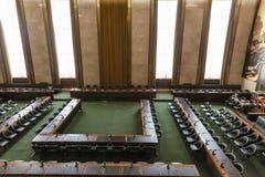 Camera del Consiglio in ONU Ginevra Fotografia Stock Libera da Diritti