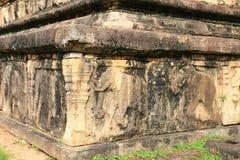 Camera del Consiglio, Polonnaruwa nello Sri Lanka Immagine Stock Libera da Diritti