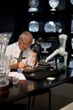 Camera del cristallo di Waterford Fotografia Stock