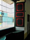Camera del ferro di Windows Immagine Stock