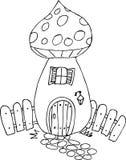 Camera del fungo di scarabocchio Fotografia Stock Libera da Diritti