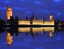 Camera del grande Ben del Parlamento Immagine Stock