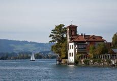 Camera del lago immagini stock