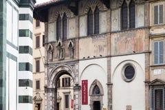 Camera del museo di Bigallo in Loggia del Bigallo Fotografia Stock Libera da Diritti