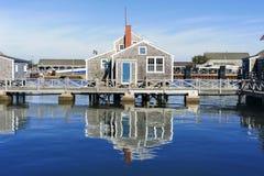 Camera del porto in Nantucket immagine stock