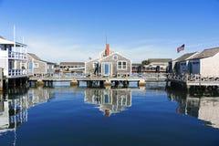 Camera del porto in Nantucket immagini stock libere da diritti