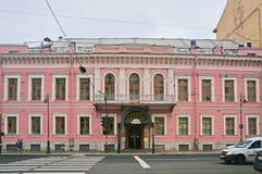 Camera del principe Shakhovsky in San Pietroburgo, Russia Fotografia Stock
