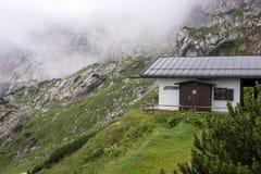 Camera del servizio di salvataggio della montagna nelle alpi bavaresi Fotografie Stock Libere da Diritti