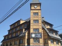 Camera dell'orologio Fotografia Stock