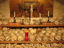 Camera dell'osso di Hallstatt (Beinhaus) Immagini Stock