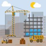 Camera della costruzione del cantiere Immagini Stock Libere da Diritti