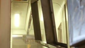 Camera della pittura pittura delle parti di metallo archivi video