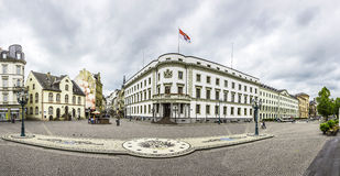 Camera della politica, il Hessischer Landtag Fotografia Stock Libera da Diritti