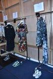 Camera della sfilata di moda del cannone Fotografia Stock
