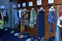 Camera della sfilata di moda del cannone Fotografia Stock Libera da Diritti