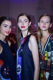 Camera della sfilata di moda del cannone Fotografie Stock