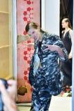 Camera della sfilata di moda del cannone Immagini Stock Libere da Diritti