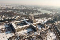 Camera della stampa libera - vista aerea Fotografia Stock Libera da Diritti