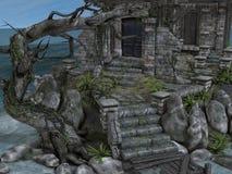 Camera della strega Illustrazione di Stock