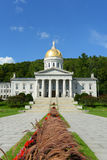 Camera dello stato del Vermont, Montpelier Fotografie Stock