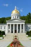 Camera dello stato del Vermont, Montpelier Fotografie Stock Libere da Diritti