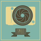 Camera design Stock Image