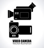 Camera design Royalty Free Stock Photos