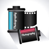 Camera design. Over white background, vector illustration Stock Photo