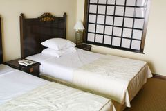 Camera di albergo Fotografie Stock Libere da Diritti