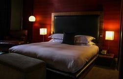 Camera di albergo accogliente Fotografia Stock