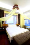Camera di albergo classica Immagine Stock