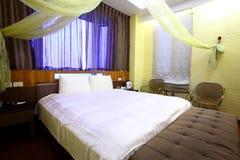 Camera di albergo classica Fotografie Stock