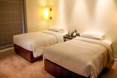 Camera di albergo classica Fotografia Stock