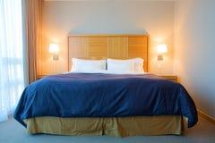 Camera di albergo contemporanea fotografie stock