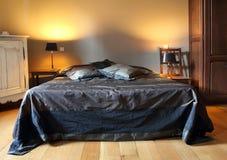 Camera di albergo dell'annata Immagini Stock